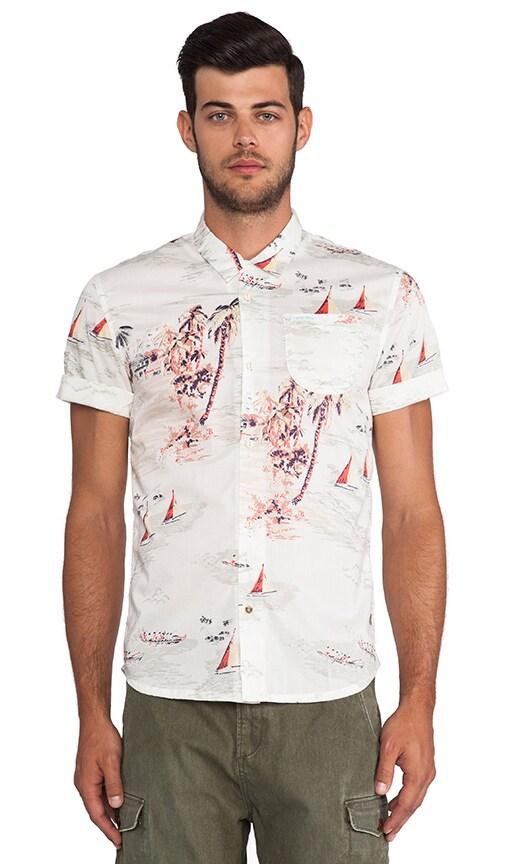 Beach Print Shirt