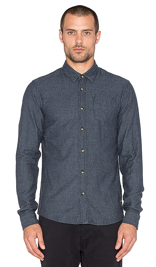 Scotch & Soda Grindle Check Shirt in Blue