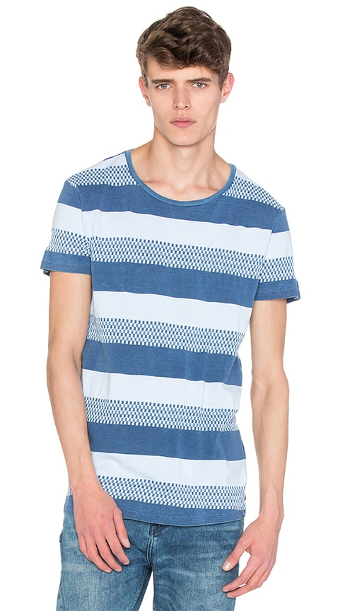 Scotch & Soda Indigo Tee in Blue