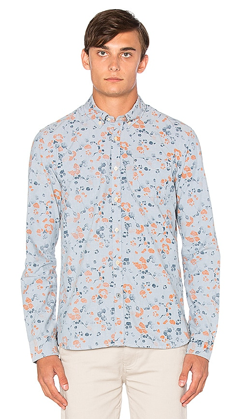 Scotch & Soda All Over Printed Shirt in Dessin
