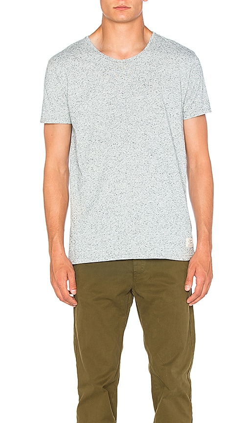 Scotch & Soda Home Alone Tee in Light Gray