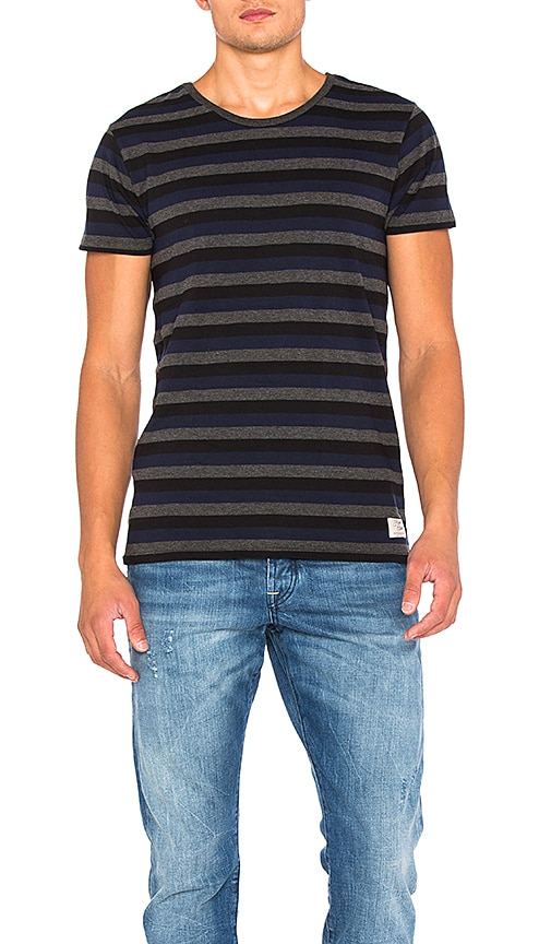 Scotch & Soda Home Alone Tee in Blue