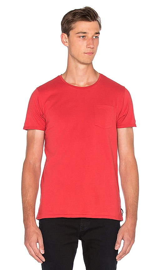 Scotch & Soda Pocket Tee in Red
