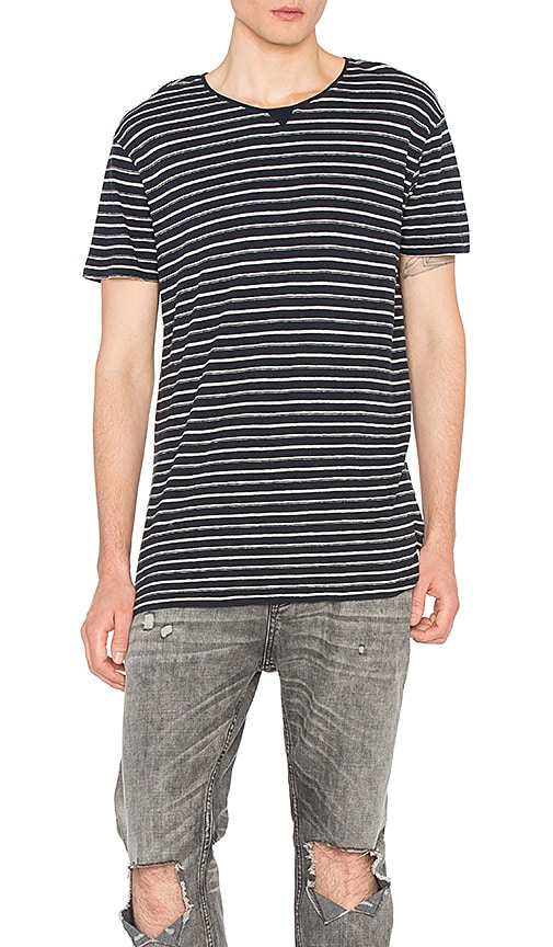 Scotch & Soda Home Alone Classic Tee in Navy