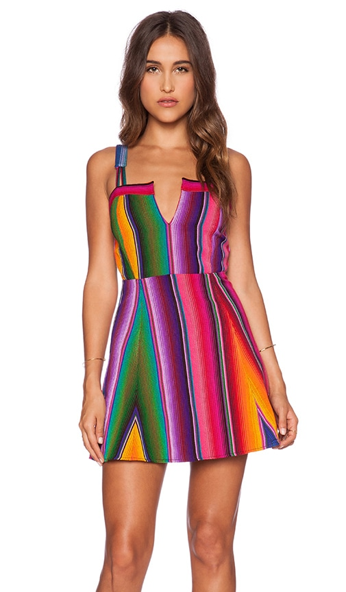 STELA 9 Hacienda Fit n Flare Dress in Multi  REVOLVE