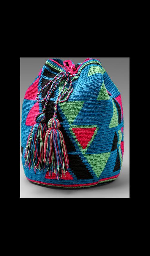 Pachamama Woven Bucket Bag