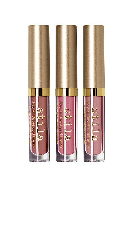 Naturally Nude Stay All Day Liquid Lipstick Set