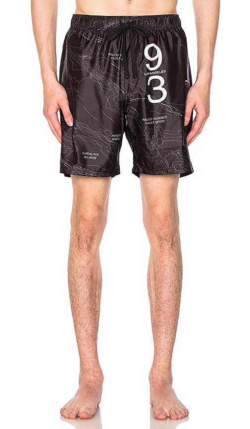 Stampd Coastal Trunks in Black