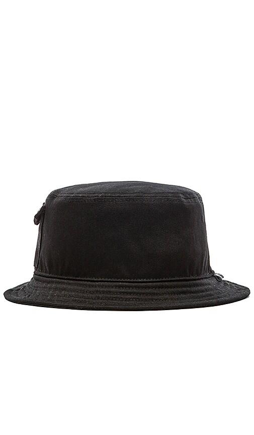Stampd Pocket Bucket Hat in Black