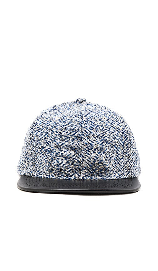 Stampd Woven Hat in Navy