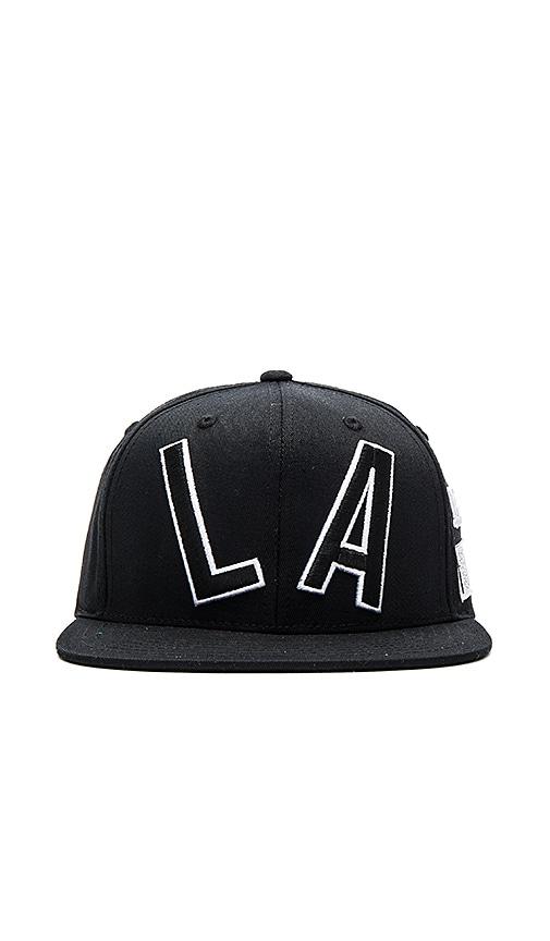 Stampd LA Code Hat in Black