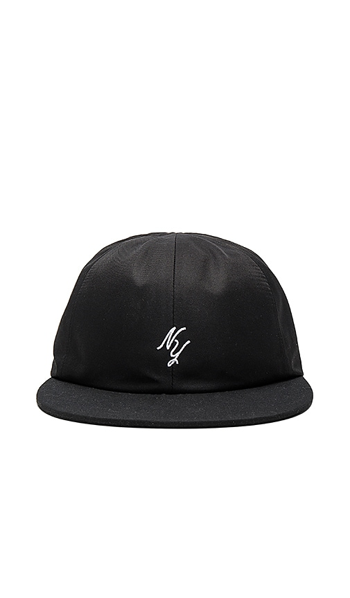 Stampd Lower NY Script Hat in Black