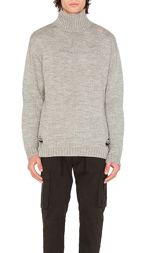 Stampd Port Sweater in Grey