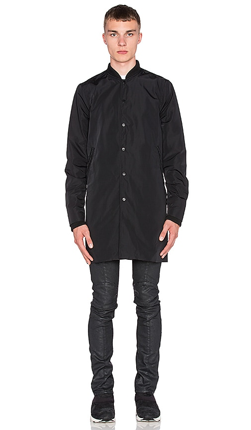 Stampd Simone Coat in Black