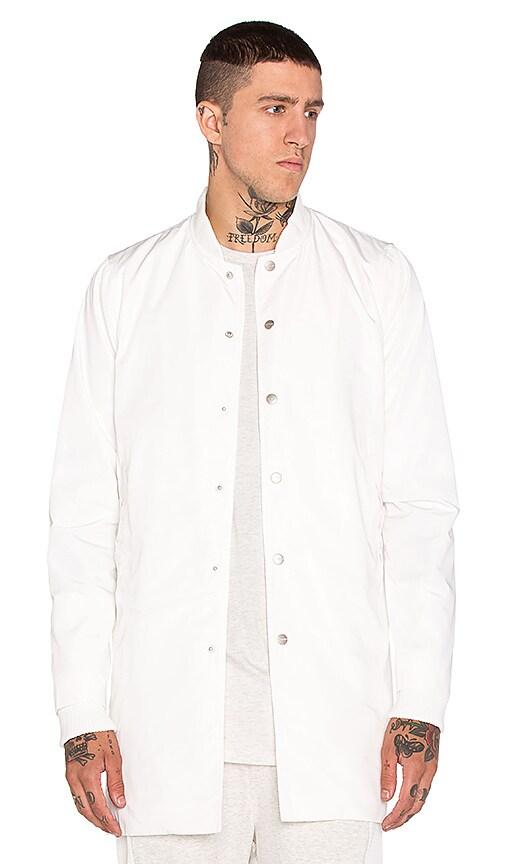 Stampd Simone Coat in White