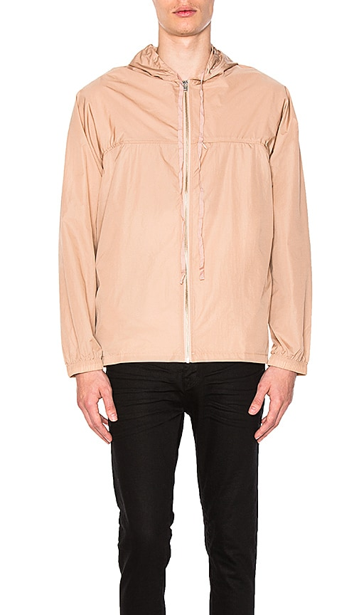 Stampd Packable Nylon Jacket in Blush