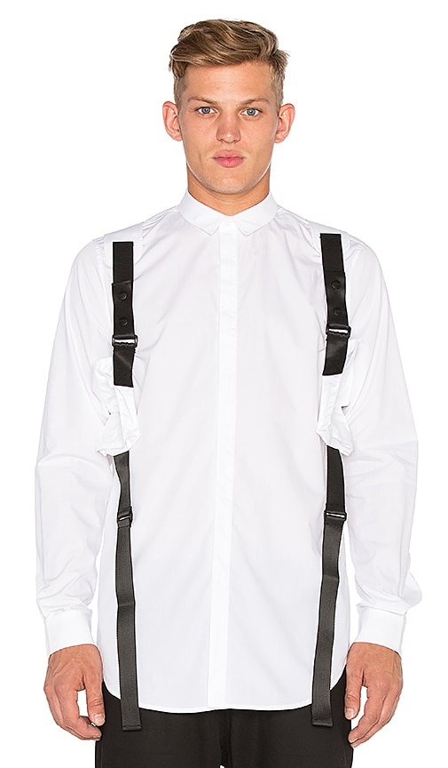 Stampd Link Shirt in White