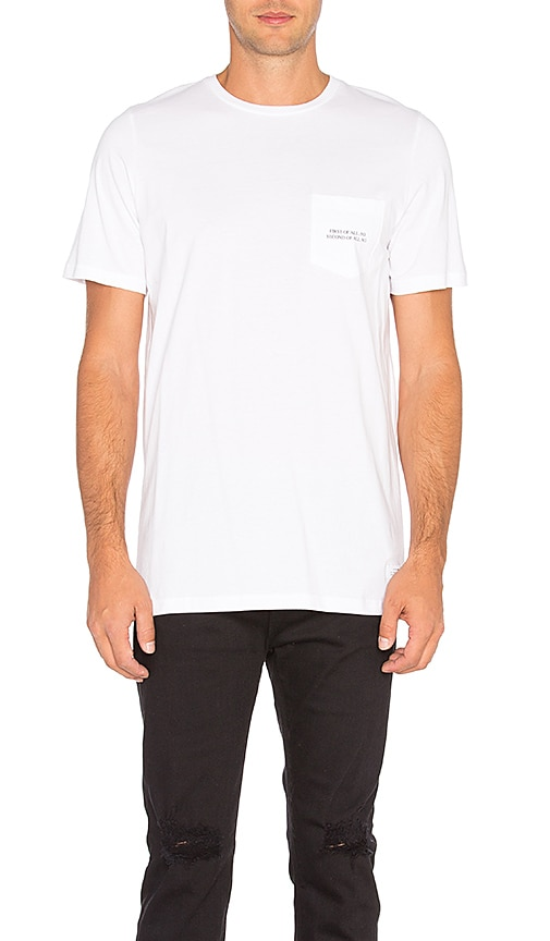 Stampd First Of All Pocket Tee in White