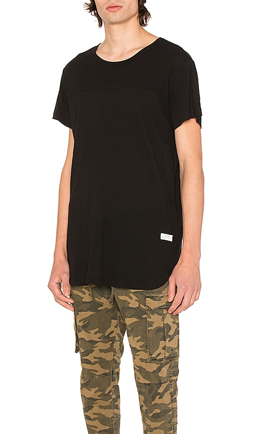 Stampd Chamber Scallop Tee in Black