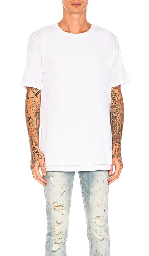Stampd Echo Tee in White