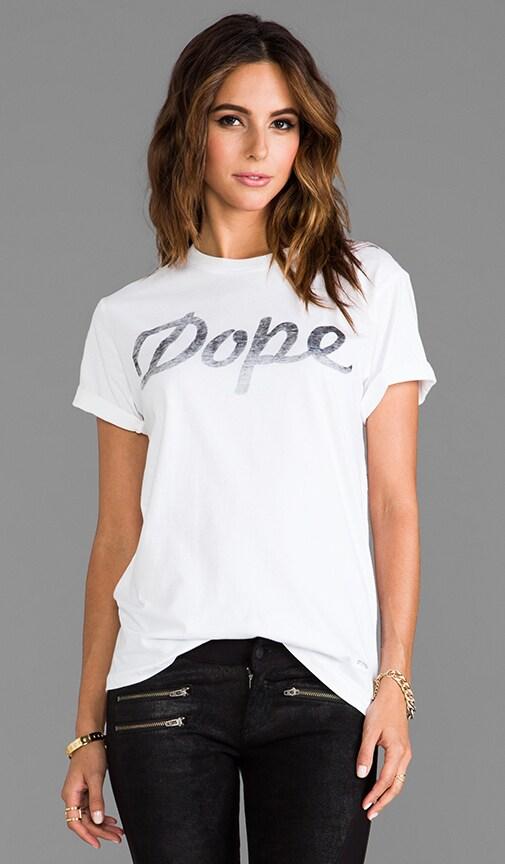 Dope Logo Under Print Tee