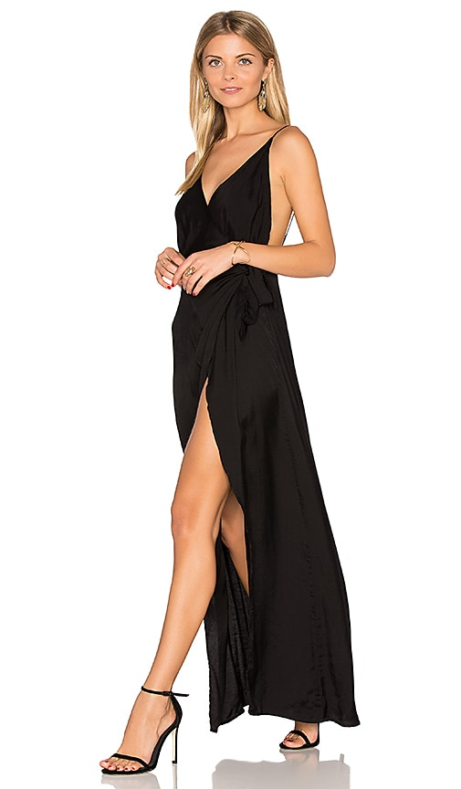 Steele Hendrix Maxi Dress in Black