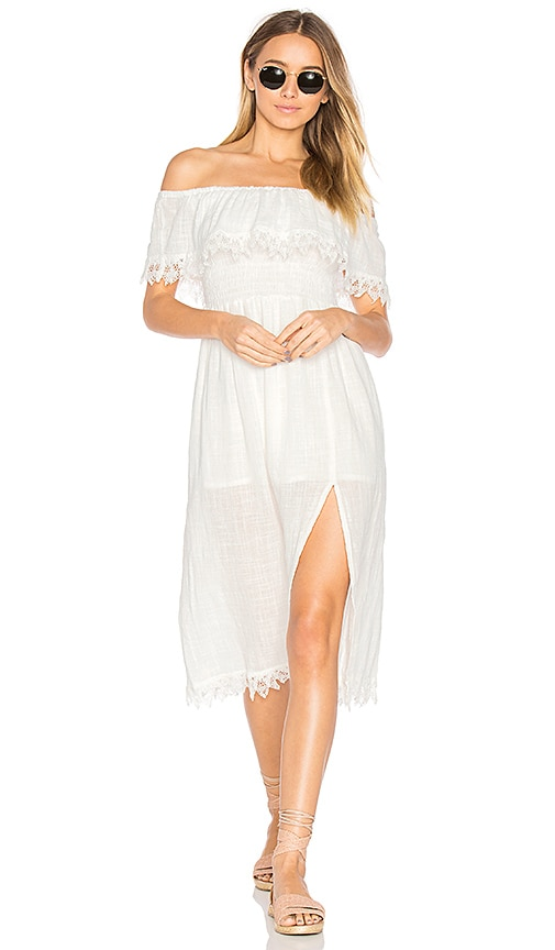 Steele Kahli Dress in White