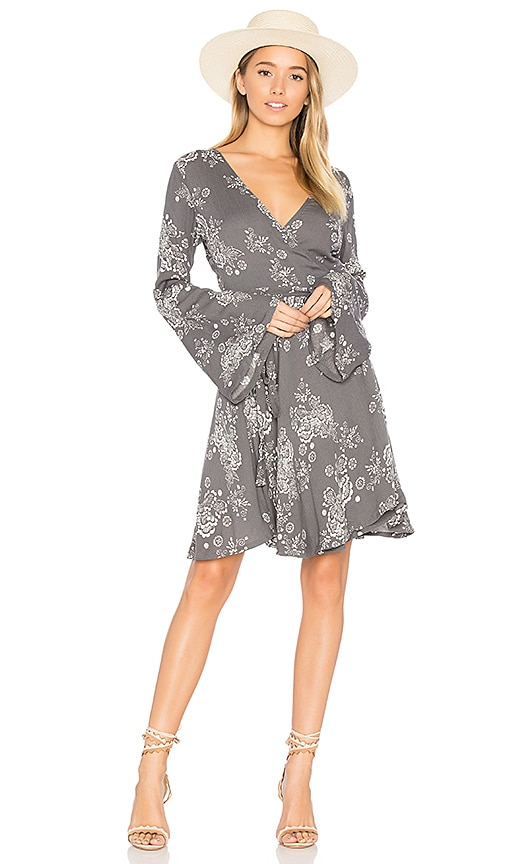 Steele Bowery Dress in Gray