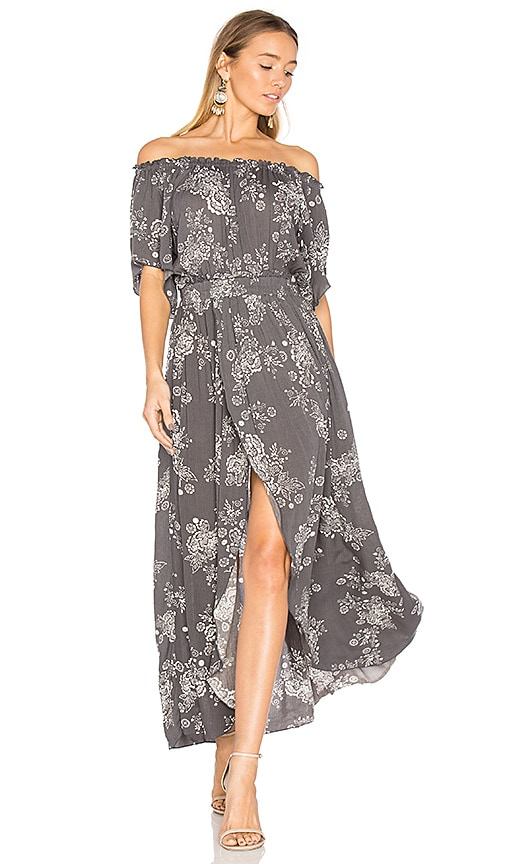 Steele Cooper Maxi Dress in Gray
