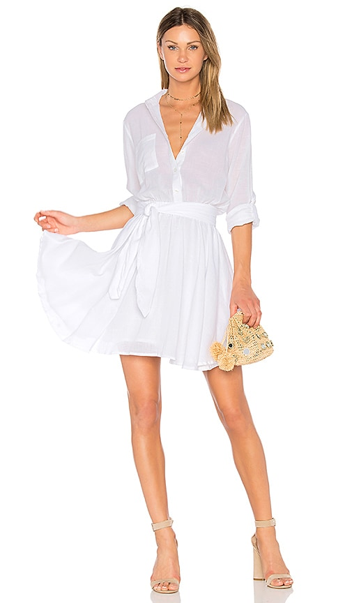 Steele Andrea Dress in White