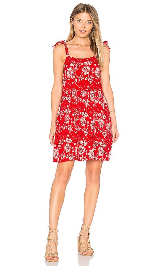 Steele x REVOLVE Wildflower Mini Dress in Red