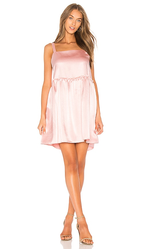 Steele x REVOLVE Silken Mini Dress in Pink