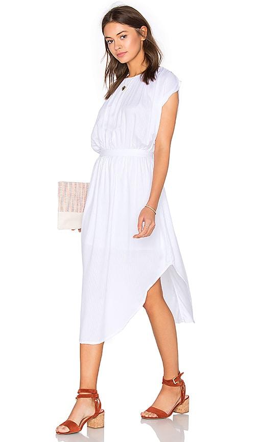 Steele Cassia Dress in White
