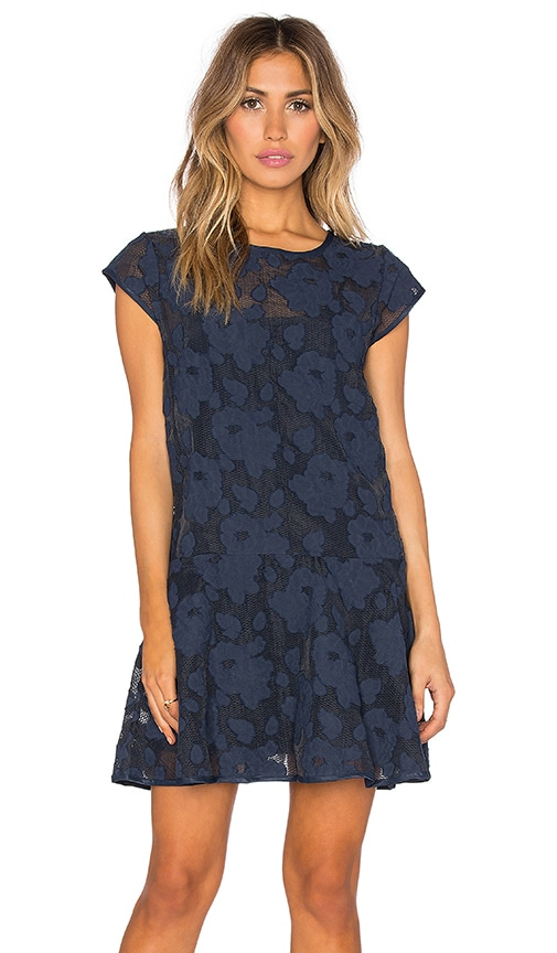 Steele Maretta Dress in Mood Indigo
