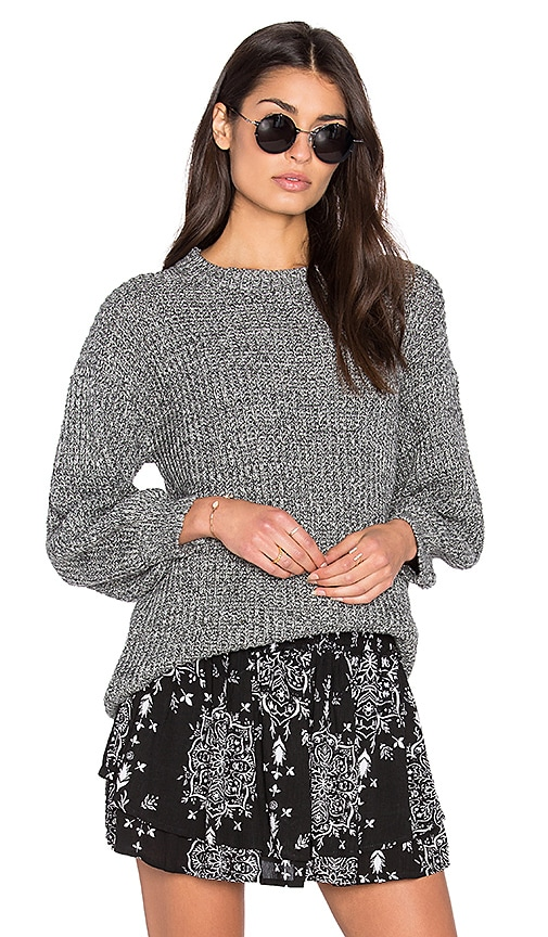 Steele Blake Knit Sweater in Gray