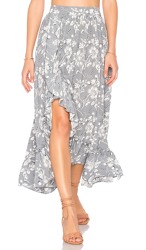 Steele Wildflower Skirt in Slate