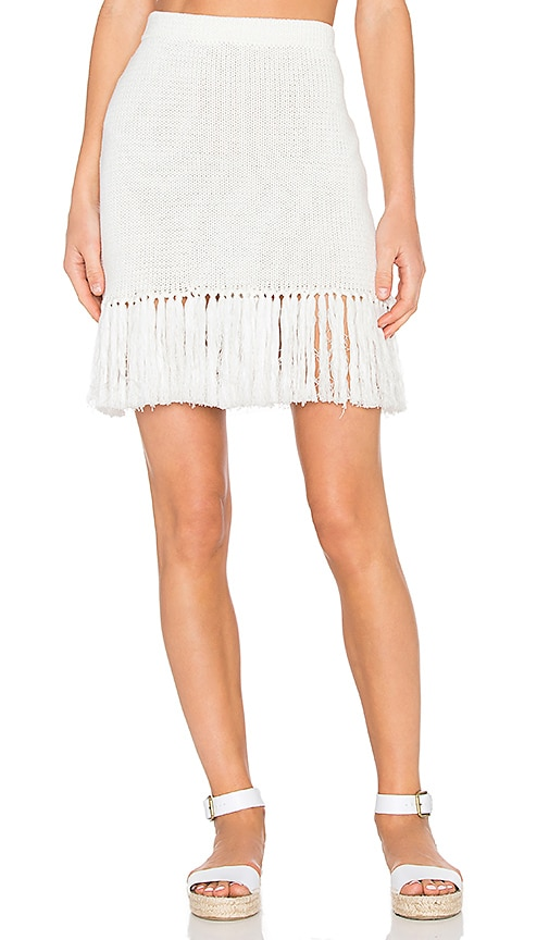 Steele Giselle Skirt in Ivory