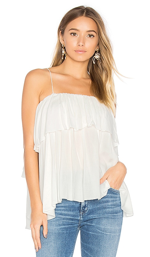 Steele Marley Top in White