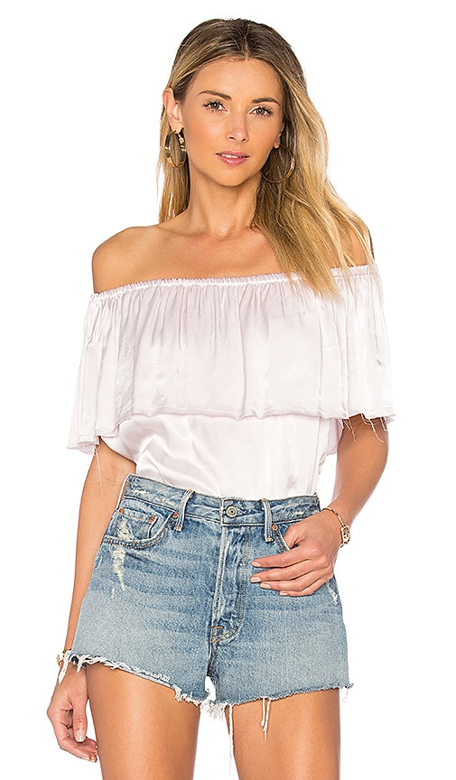 Steele Fifi Top in White