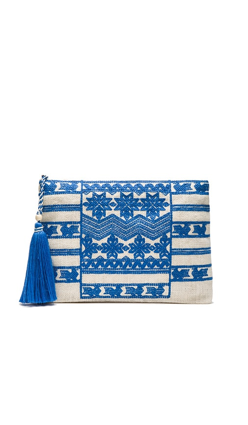 Leila Embroidered Purse