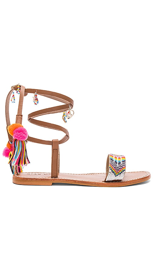 Star Mela Tuli Sandal in Brown