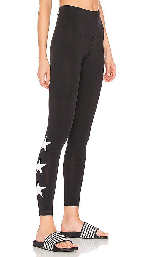 STRUT-THIS Star Legging in Black