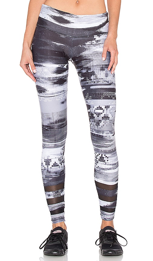 STRUT-THIS The Stella Ankle Legging in Gray