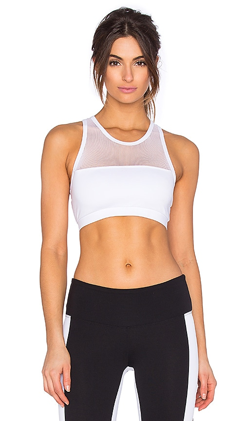 STRUT-THIS The Chase Bra in White
