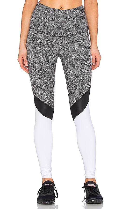 STRUT-THIS The Monroe Legging in Grey & Black & White
