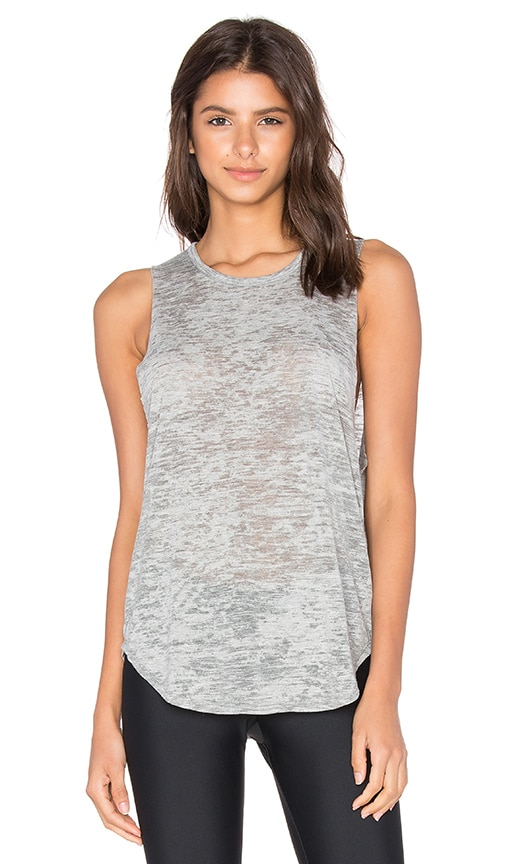 STRUT-THIS The Cruz Muscle Tank in Gray