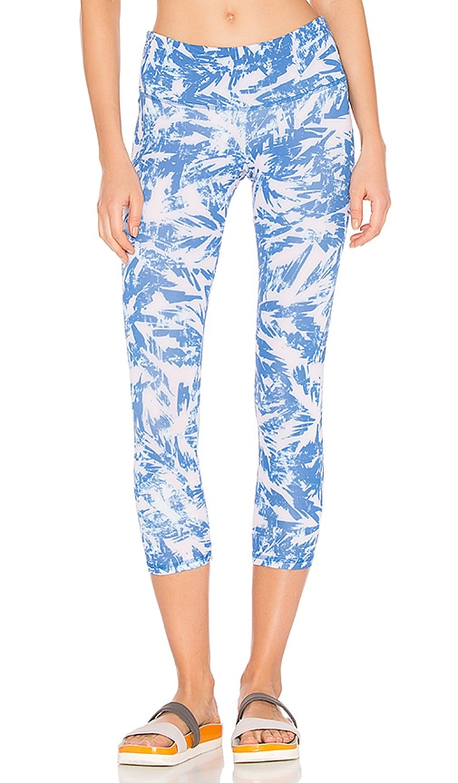 STRUT-THIS The Teagan Crop Legging in Blue