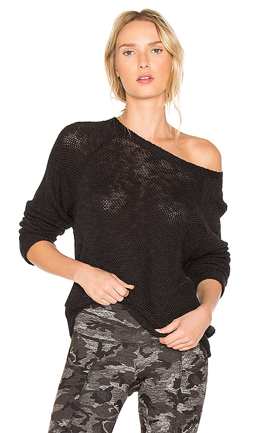 STRUT-THIS The Sawyer Sweatshirt in Black