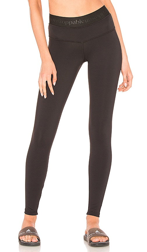 STRUT-THIS The Unstoppable Teagan High Rise Legging in Black