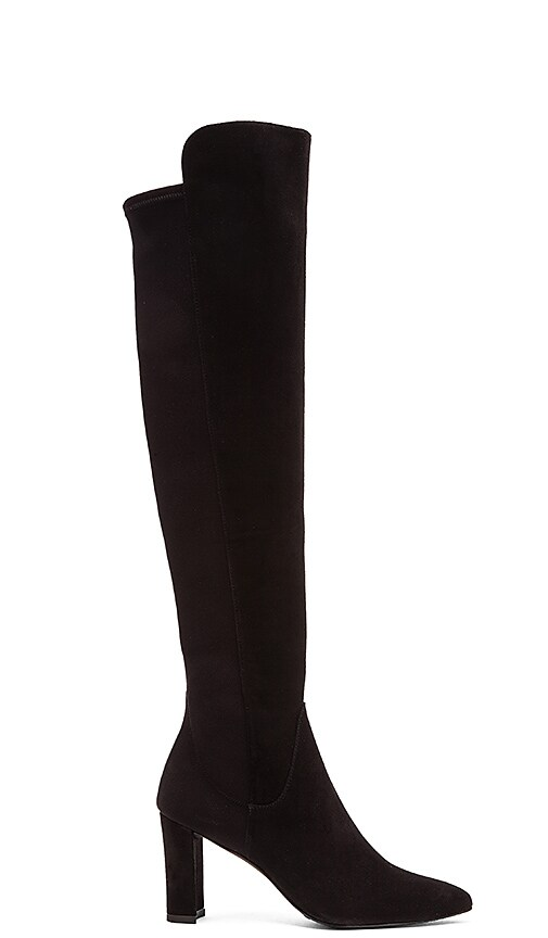 Stuart Weitzman Fiftymimi Boot in Black
